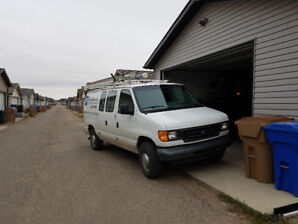 For sale 2004 E350 Ford van Natural Gas