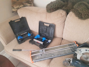 Ladders and tools for sale