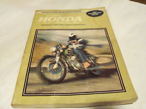 Honda 125-200cc Twins 1964 - 1977 Service Manual