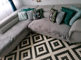 Right corner sofa bed