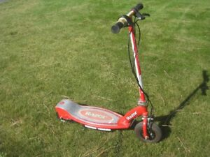 Razor Electric Scooter.