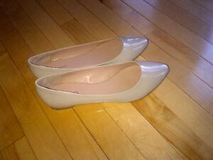 Beige/Nude Ballerina Flats