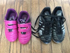Toddler soccer/baseball cleats