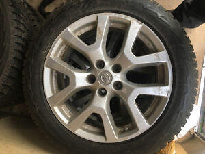 Winter tires, ride on mower, washer/dryer pedestals