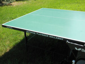 Outdoor Ping Pong Table and Cover