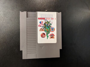 500 Games In 1 - Nintendo Entertainment System