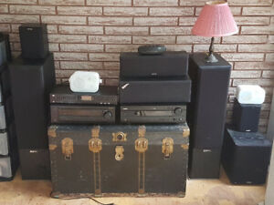 Various Home Entertainment Sound System Equipment