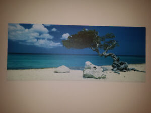 LARGE  TROPICAL WALL PICTURE