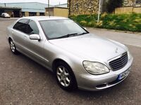 2004 Mercedes Benz S Class S320 L Auto Limo Face Up Lift Model 1 Year MOT Swap P.x Welcome