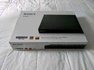 Sony 4K UHD Wi-Fi Blu-ray Player (UBPX800/CA)