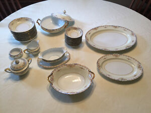 Antique Noritake dishes - 12 serving set- make an offer