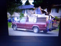 RUBBISH REMOVAL / DOWNSIZING TRUCK 4 HIRE VANCOUVER 604-724-7367