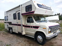 23 ft. Ford 350 Citation, Class C, 1988, Motor home/ RV