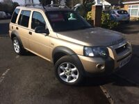 LEFT HAND DRIVE Land Rover Freelander 2004 LHD