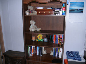 Solid Wood Bookcase 7'