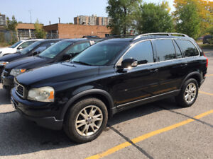 2007 Volvo XC90 SUV, Crossover AWD with 4 new tires