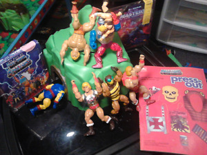1980s HEMANS OR ALSO CALLED HE-MAN MOTU MASTERS OF THE UNIVERSE
