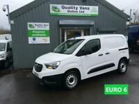2019 Vauxhall Combo L1H1 2300 EDITION EURO 6 VAN ONLY 18000 Miles Panel Van Dies