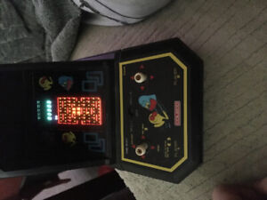 Pac man mini arcade vintage 1980's open to reasonable offers