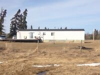 Mobile home And 60 acre farm for sale