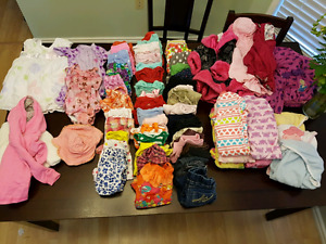Baby girl clothes. 12 to 18 m ish