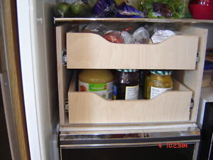 MAKE YOUR CUPBOARDS MORE USER FRIENDLY--WITH ROLLING SHELVES Kawartha Lakes Peterborough Area image 9