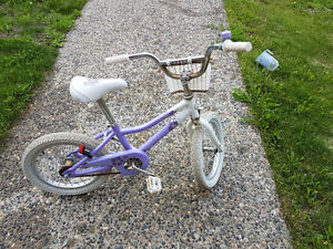 """16"""" bike for girl- good condition"""