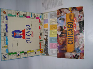 CHICAGO-OPOLY GAME [like monopoly]