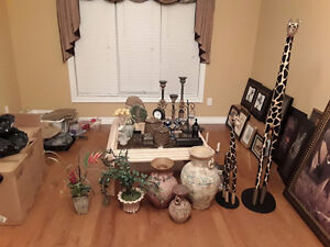 Moving Sale - Lots of home decor items