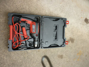 JOBMATE 4.5 A HAMMER DRILL WITH ACCESSORIES