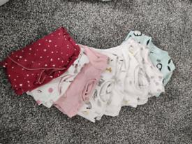 Babygirl clothes bundle 0-3 months (size 62)