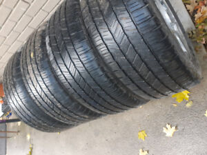 """20"""" rims and tires, 6 bolt Chevy"""