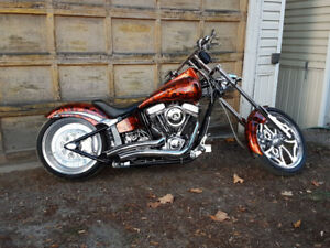 2013 Custom Prostreet Motorcycle; Trade for Skidsteer