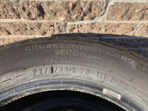 4 Pneus d'ete neuf/ 4 New Summer tires 275 55 r20