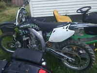 Dirt Bike and boat $5000