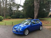 2003/53 MG ZR 1.8 120 Stepspeed + Automatic 5 Door Hatchback Blue