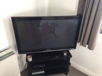 "Panasonic 42"" wide screen HD Ready plasma TV with freeview."
