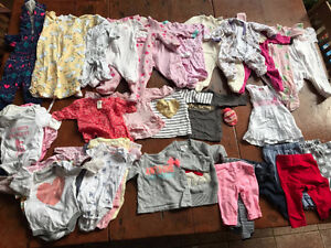 3-6 month lot (girl)