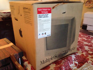 Apple Multiple Scan 720 Display/Monitor - $75