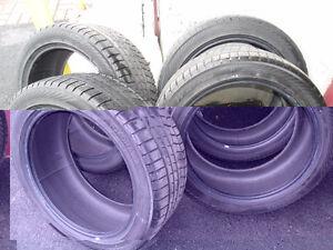 4 pneu hiver yokohama 245/45r19 usure entre 5/32 et 6/32  Etais