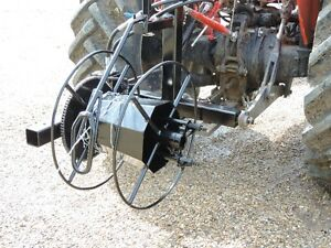 New 3 Point Hitch Hydraulic Wire Roller