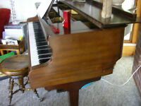Small Apartment Size Baby Grand - no keyboard