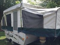 Tente roulotte camping tent