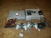 moded psx with gameshark pro