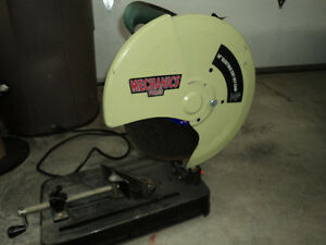 14 inch Mechanics force Cut off saw