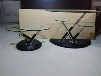 Sofa Table and Matching Coffee Table
