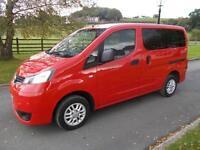 NISSAN NV200 ACENTA DCI 7 SEAT MINIBUS 63 REG ONLY 19,300 MILES