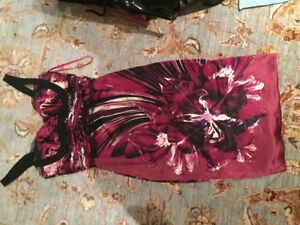Roberto Cavalli brand made in Italy silk women's dress. Sz 40.