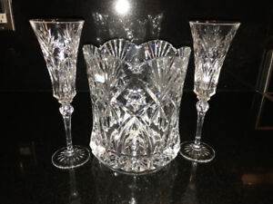 Bowring Champage Ice Bucket -Durand Crystal