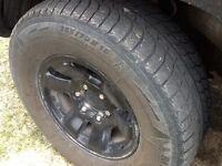 Tacoma wheel and tires